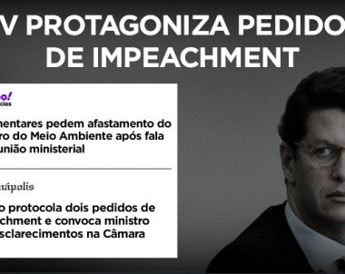 PV protagoniza pedidos de impeachment