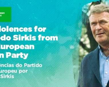 Condolences for Alfredo Sirkis from the European Green Party